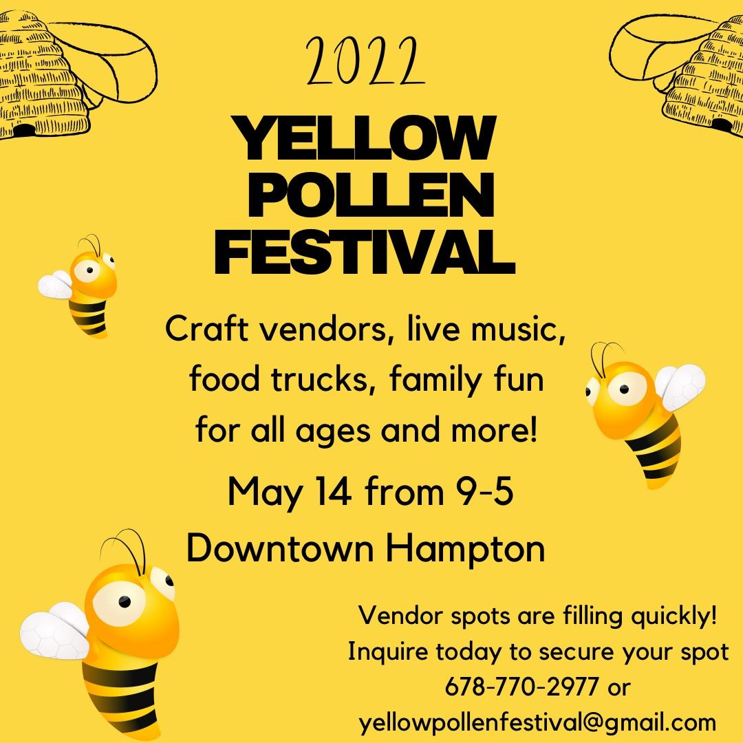 Yellow Pollen Festival Application 2020