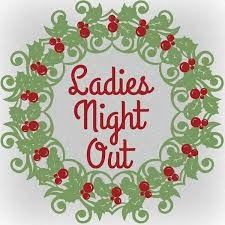 ladies night out Christmas